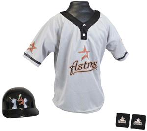 MLB ASTROS Kids Team Baseball Set Uniform
