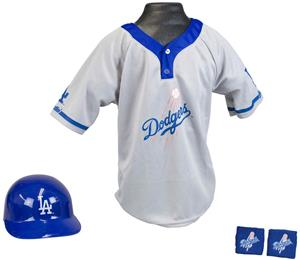 MLB DODGERS Kids Team Baseball Set Uniform