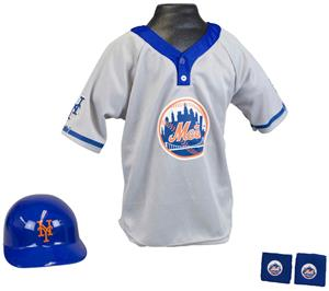 MLB METS Kids Team Baseball Set Uniform