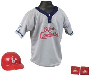 MLB CARDINALS Kids Team Baseball Set Uniform