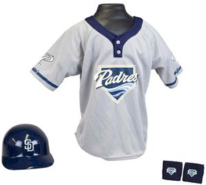 MLB PADRES Kids Team Baseball Set Uniform