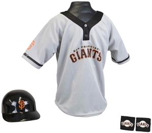 MLB GIANTS Kids Team Baseball Set Uniform