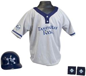 MLB RAYS Kids Team Baseball Set Uniform