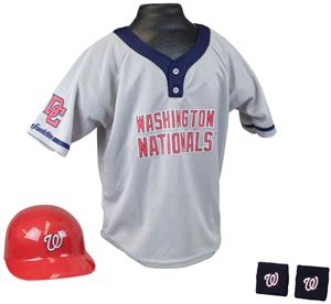 MLB NATIONALS Kids Team Baseball Set Uniform