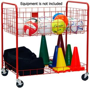 Champion Sports Back Ease Storage Cart
