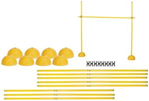 Champion Sports Agility Indoor/Outdoor Hurdle Set
