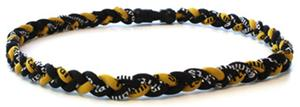 D-Bat Titanium Necklaces-Black/Yellow