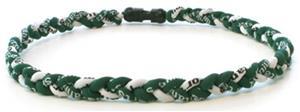 D-Bat Titanium Necklaces-Green/White
