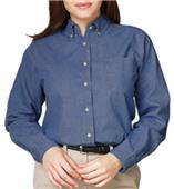 Blue Generation LS Premium Cotton Denim Blouse