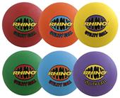 Champion Sports Rhino Max Utility Ball Set of 6