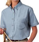Blue Generation SS Premium Cotton Denim Blouse