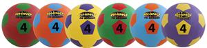 Champion Rhino Max Playground Soccer Ball Set of 6