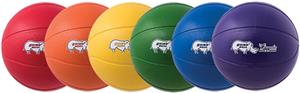 "Champion Sports Rhino 9"" Basketball Ball Set of 6"
