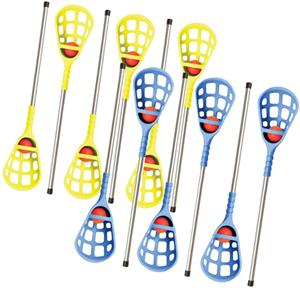 Champion Sports Rhino Skin Lacrosse 12 Player Set