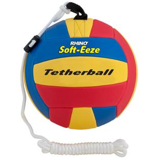 "Champion Rhino Soft-Eeze 9"" and 10"" Tetherballs"