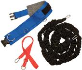 Champion Sports All Purpose Resistance Belt Set