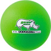 "Champion Rhino Skin Dodge Ball 6"" Neon Green"