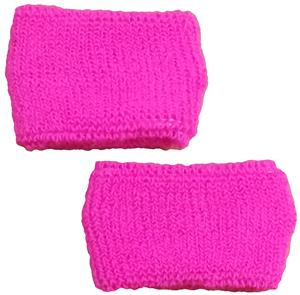Red Lion FLUORESCENT PINK Armbands (PAIR)