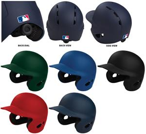 Electron Dial Fit Rubberized Matte Baseball Helmet