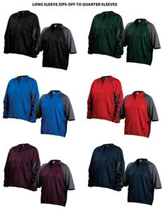Rawlings Switcheroo Zip-Off Sleeve Jacket SWCHRU