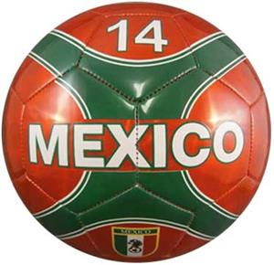 Vizari Mexico Country Red Soccer Balls