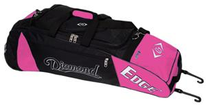 Diamond Edge Bat Bag for Baseball or Softball-Pink