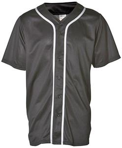 Adams 6 Button Front Baseball Jersey-Closeout
