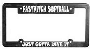 Softball Plate Frame