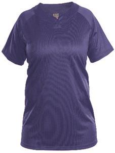 Womens One Button Softball Jersey-Closeout