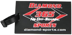 Diamond Baseball Luggage Tag Gifts
