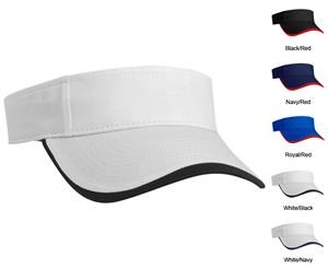 Pacific Headwear 520V Polo Twill Softball Visors