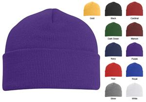 Pacific Headwear 621K Knit Beanie Fold Over
