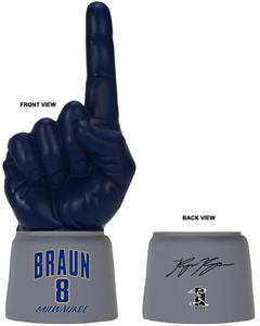 UltimateHand Foam Finger Braun MLBPA Combo