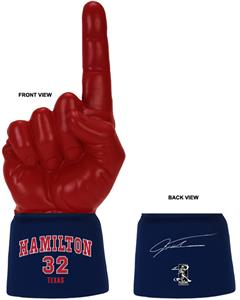 UltimateHand Foam Finger Hamilton MLBPA Combo
