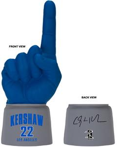 UltimateHand Foam Finger Kershaw MLBPA Combo
