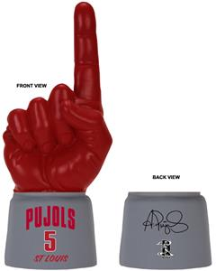 UltimateHand Foam Finger Pujols MLBPA Combo