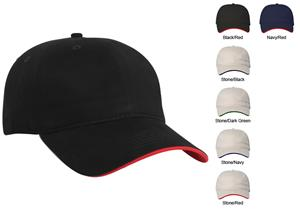 Pacific Headwear 282C Cotton Binded Sandwich Caps