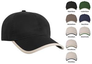 Pacific Headwear 327C Enzyme Washed Cotton Caps
