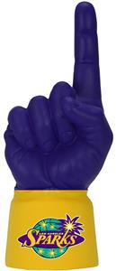 UltimateHand Foam Finger WNBA Sparks Fever Combo