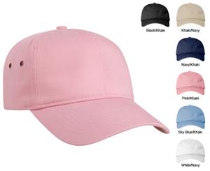 Pacific Headwear 352C Enzyme Washed Ladies Caps