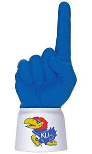Foam Finger University of Kansas Combo