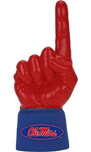 Foam Finger University of Mississippi Combo