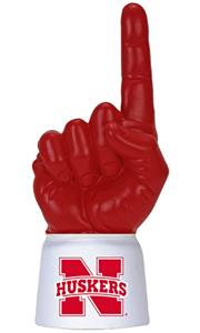 Foam Finger University of Nebraska Combo