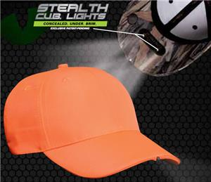 Pacific Headwear P18 Orange High Visibility Caps