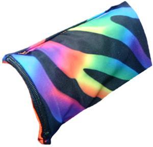 Svforza Wrist Wallet Tie Dye Zebra Wristband