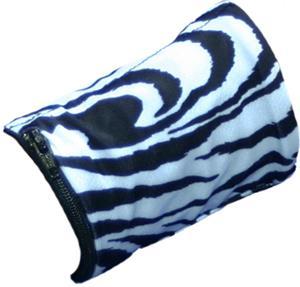 Svforza Wrist Wallet Black/White Zebra Wristband
