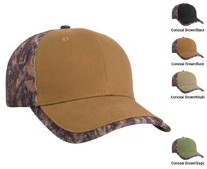 Pacific Headwear 675C Cotton Duck Camouflage Caps
