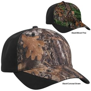 Pacific Headwear 673C Cotton with Camouflage Caps