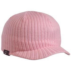 Pacific Headwear 617K Pink Knit Beanie with Visor