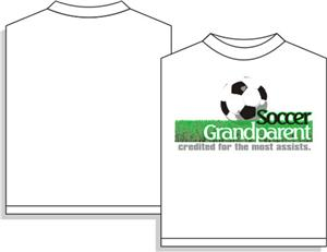 Utopia Soccer Grandparent Short Sleeve T-shirt